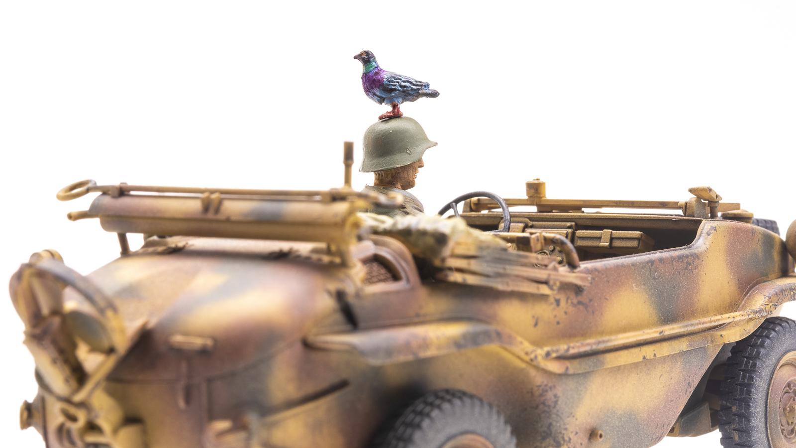 「鳩のプラモデル」のある土曜日。