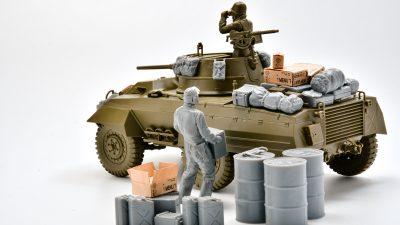 タミヤの「新・グレイハウンド」は戦車模型界の幕の内弁当じゃ!!