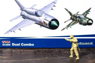 ハチドリのような存在感。eduard 1/144 MiG-21 BIS