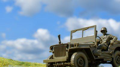 戦車模型界イチのスター!? みんなジープって聞いたことありますよね?