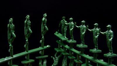 兵士は「緑」が最高!!/AIRFIX VINTAGE CLASSICS「1/76 USAAF人員」