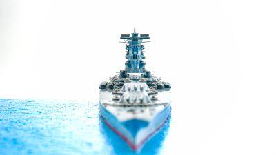 「戦艦大和のプラモ」を作ったら、軍港ができてしまった話。