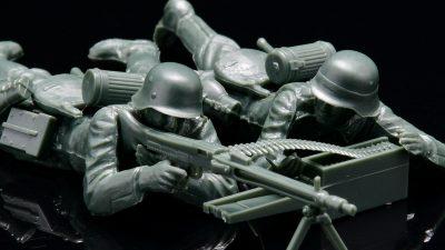 「タミヤMMに潜むユニットミニチュア」をスカウトせよ!/ドイツ陸軍 歩兵セット フランス戦線