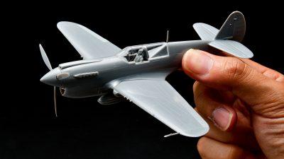花金だ!仕事帰りに買うプラモ/ハセガワ 1/72 アメリカ陸軍 P-40N ウォーホーク