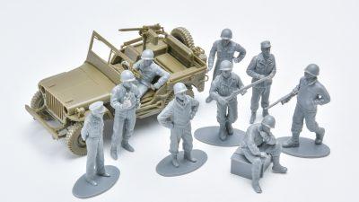 花金だ!仕事帰りに買うプラモ/タミヤ 1/48 WWIIアメリカ歩兵前線休息セット