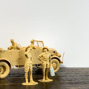 夏のプラモ シュタイヤー1500A/01・アフリカ軍団休息セット