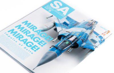フランス生まれの美人戦闘機、ミラージュ尽くしの『スケビ』最新号!