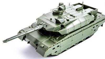 爆速で組み立てられる日本最強戦車のプラモ。夏の自由工作はこれで決まりだ!