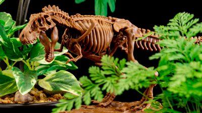 プラモと雑誌と恐竜と。最強トリオが合体した全世代向け激オススメ骨格模型、今すぐ組むべし!