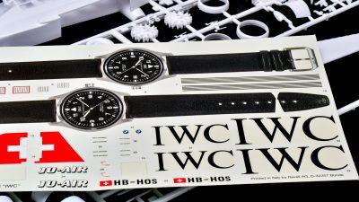 「腕時計を抱く飛行機」に魅せられて。Ju-52 IWC。