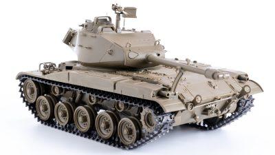 夕飯の後にサクッと完成、タミヤのウォーカーブルドッグは俺的「ザ・戦車模型」です!