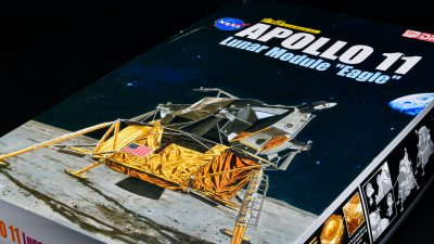 「ムーンウォッチ」。アポロ11号模型への誘い。