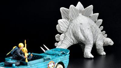 花金だ!仕事帰りに買うプラモ。500円で「ダイナミックジュラ紀」を手に入れろ!!!