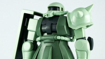 シタデルカラーで「ザク探し」。この2色でザクの緑を筆塗りだ!!