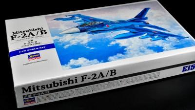 ハセガワのオンリーワン定番プラモ「航空自衛隊 支援戦闘機 三菱 F-2A/B」をオープン・ザ・ボックス!!