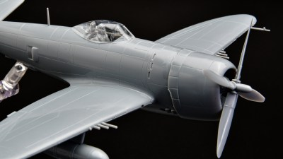 ハセガワ1/72飛行機模型ピックアップ! 第二次大戦のマッスルレシプロ戦闘機「P-47D」が800円で楽しめる!!