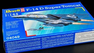 憧れの「F-14 トムキャット」が1時間で組み上がるご機嫌プラモ!誰にも懐くドラ猫をゲットだぜ!!