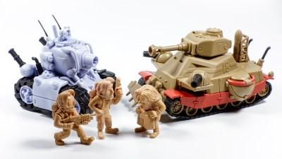 【PR】これぞ「メタルスラッグプラモ」!!マッハで組めるモーデン軍の大型戦車でメタルスラッグと対決だ!!