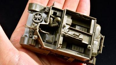 花金だ!仕事帰りに買うプラモ。ちっちゃくても大活躍!英国軍を支えた「ブレンガンキャリヤー」をタミヤ1/48MMで楽しもう。