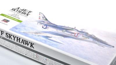 ハセガワ1/72飛行機模型ピックアップ!世界中で愛される小型ジェット艦上攻撃機「スカイホーク」!!