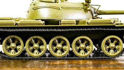 転輪を整えて。/タミヤ 1/35 T-55