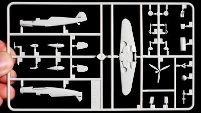 プラモ箱絵買いのススメ/かわいいプラモ、スイートの1/144 メッサーシュミットBf109を愛でる。