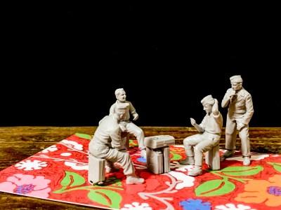 マスターボックスの「トランプで遊ぶアニキたち」と遊ぼう