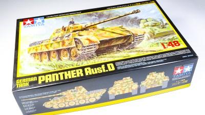 新しくてかっこいいパンター戦車でT-34を迎え撃て!!!「タミヤ 1/48 パンサーD型」