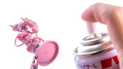 サーフェイサーを吹くだけでナイスグルーヴ!「ピンク・シャドウ塗装」のススメ。