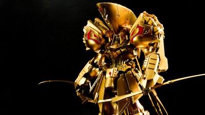 水性塗料でもめっちゃ輝く「K.O.G.の金」塗れます!!/水性塗料でプラモが塗りたい!