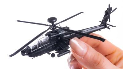 ただひたすらに細かすぎるプラモを組み立てたい日もある。/世界最強ヘリコプターのミニスケールキット