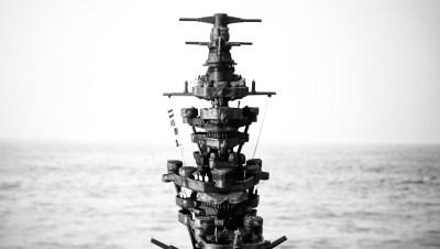 艦橋は屋根より高く! プラモデルの王様、戦艦モデルの醍醐味だけ味わう