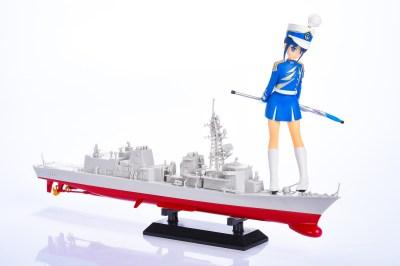 護衛艦むらさめで「組み立てがいちばん楽しいプラモデルは艦船模型だ」と言い切りたい!