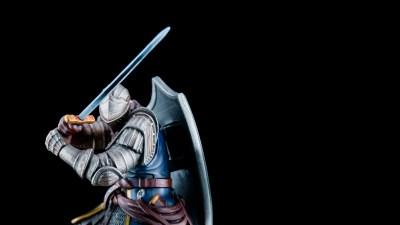 「剣」の筆塗りはドライブラシで決まり!!誰でも手軽にかっこよくできます!!