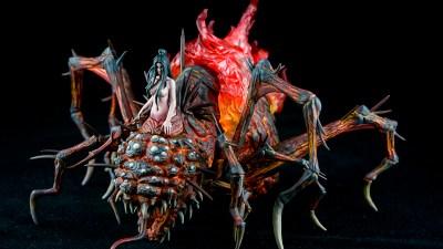 メガハウスの混沌の魔女クラーグを「染め塗り」で燃やせ!!/ゲームピースコレクション DARK SOULS