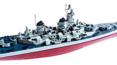 祝、完結!『シン・エヴァ』観たら作りたい、アイオワ級3番艦のプラモデル