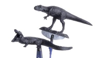 掴みどころのないヤツら/グラブ・ユア・タミヤの小型恐竜セット。