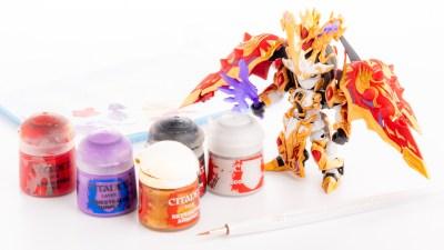 「NOマスキングな水性塗料の筆塗り」で、きらびやかなプラモデルを貴方の手に!