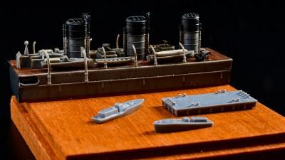 大好きなあの娘の「チャームポイント」を切り出したら艦船模型が銭湯の壁に見えた!