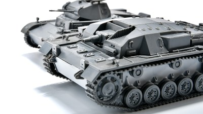 手頃なタミヤ1/48MMで戦車とは一味違う「突撃砲」デビューしちゃおうぜ! 「III号突撃砲B型」