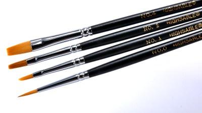 春は「上野文盛堂特選セット」で筆塗りデビュー! 4本セットであなたのニーズにお応えします。