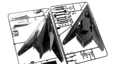 模型店で魅せられた「黒い二等辺三角形」の話。
