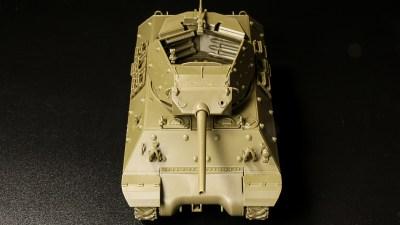 何度作っても楽しい! プラモハートをオープンにしてくれる「タミヤ 1/48 M10 駆逐戦車」。