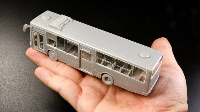 「俺の街を走ってるバスじゃん!」生活圏内でみるモチーフを模型で楽しもうぜ。