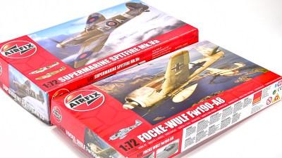花金だ!仕事帰りに買うプラモ。/エアフィックスでヨーロッパの名機を満喫!「スピット VS フォッケ」