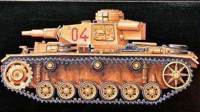 クラスチェンジして戦場にカムバックするドイツIII号戦車の最終形! 「タミヤ 1/48 ドイツIII号戦車N型」。