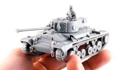進化する最強お手頃戦車模型、1/56スケールで進撃中です!
