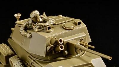 タミヤ 1/48MMのチートプラモでジェントリ〜!「イギリス 7トン4輪装甲車 Mk.IV」