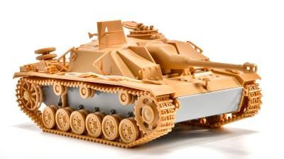 花金だ!仕事帰りに買うプラモ。/まもなく戦車!? 突撃砲の強化タイプを楽しむウィークエンド。「タミヤ 1/48 ドイツIII号突撃砲 G型」