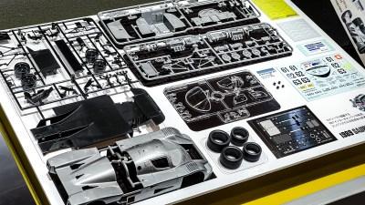 F1ドライバーに教わるプラモデルの作りかた/タミヤ 1/24 ザウバー メルセデス C9